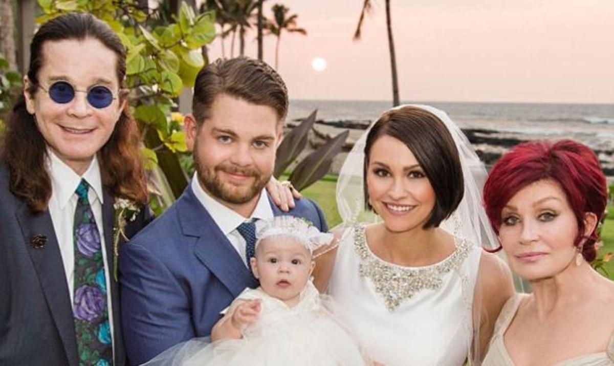 Ozzy και Sharon Osbourne: Ο χλιδάτος γάμος του γιου τους στη Χαβάη! | Newsit.gr