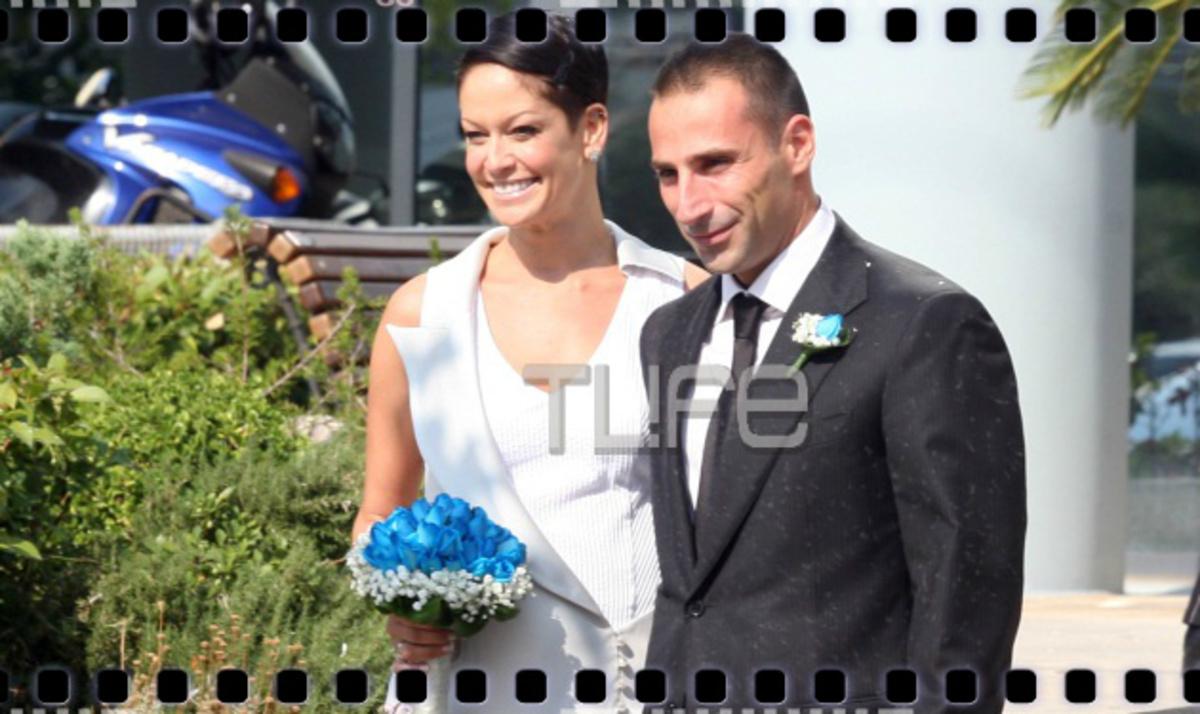 Ρ. Τουτουντζή – Γ. Ματζούκης: Mόλις παντρεύτηκαν! Το άλμπουμ του γάμου τους! | Newsit.gr