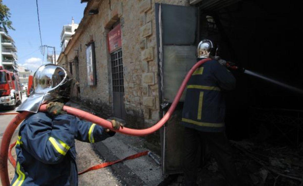 Χανιά: Πυρκαγιά σε υπόγειο γκαράζ | Newsit.gr