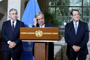 Κυπριακό: Πολύωρες συζητήσεις, εντάσεις και… καμία συμφωνία! Νέες διαπραγματεύσεις στις 18 Ιανουαρίου