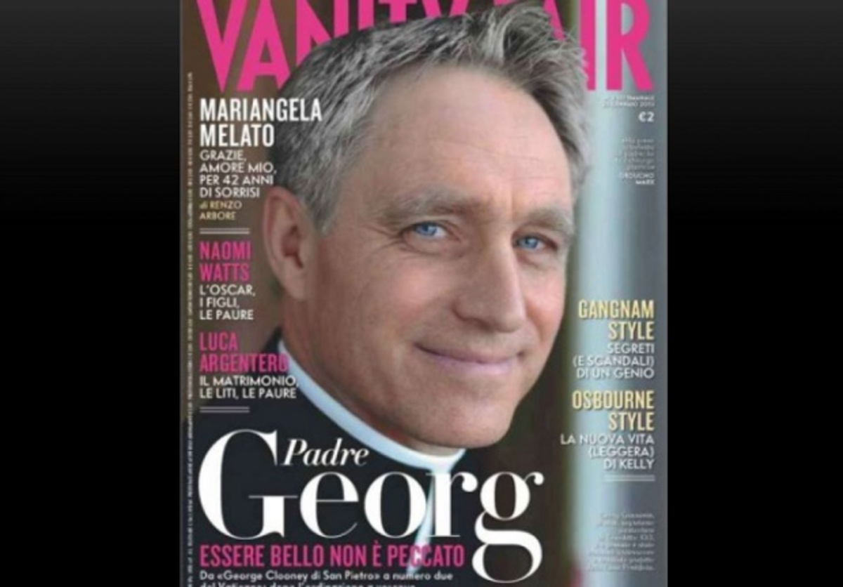 Ο… Τζορτζ Κλούνεϊ ζει στο Βατικανό! | Newsit.gr