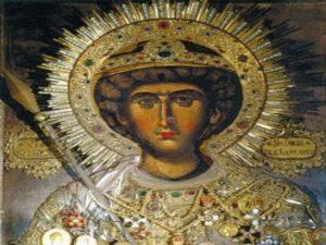 Οι θαυματουργικές εικόνες του Αγίου Γεωργίου στο Άγιο Όρος