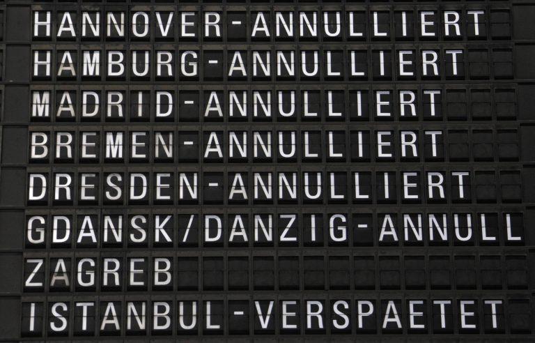 Παραλύουν λόγω απεργίας τα αεροδρόμια στη Γερμανία   Newsit.gr