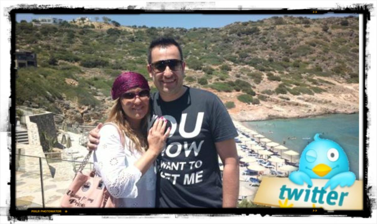 Ν. Γερμανού – Θ. Γεωργαντάς: Διακοπές στην Κρήτη! Στο νησί βρίσκεται και ο Γ. Νινιός | Newsit.gr