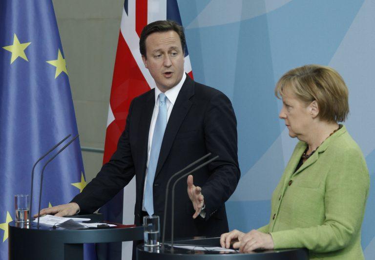 Γερμανο-βρετανική συμμαχία για τη στήριξη του ευρώ | Newsit.gr