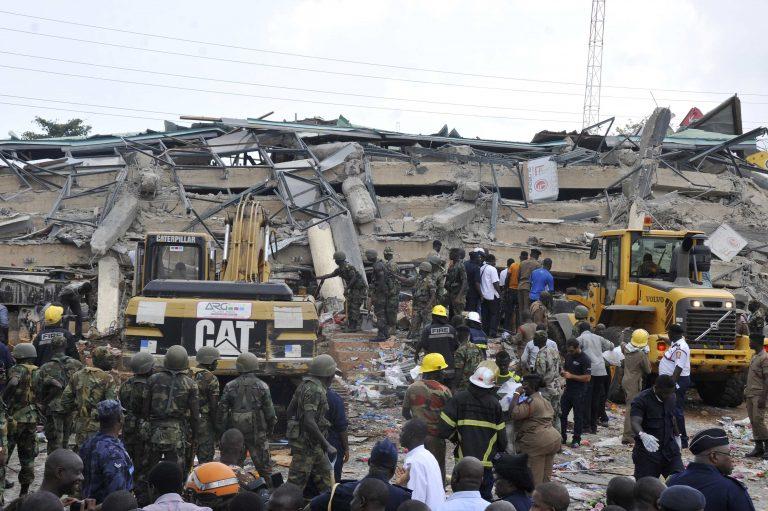 Γκάνα: 9 νεκροί και 55 παγιδευμένοι από την κατάρρευση εμπορικού κέντρου | Newsit.gr