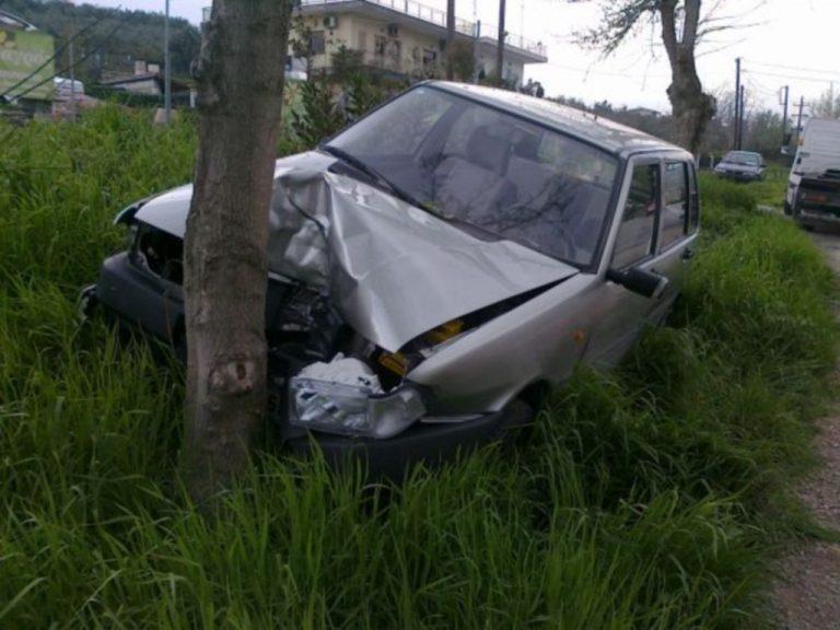 Λαμία: Το μόνο που σταμάτησε την 74χρονη οδηγό ήταν το… δέντρο! | Newsit.gr