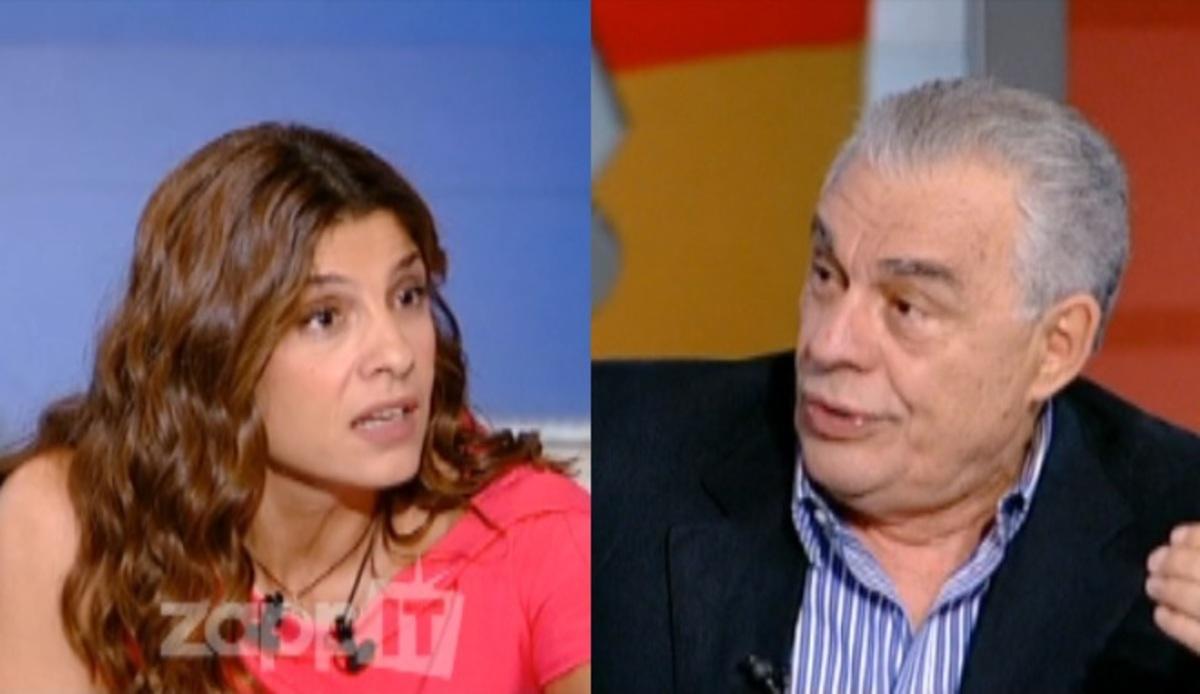 Γιακουμάτος σε Τσαπανίδου: «Επειδή έχεις μαύρα μαλλιά θα σε ρωτήσω για …την Τζούλια Αλεξανδράτου»! | Newsit.gr