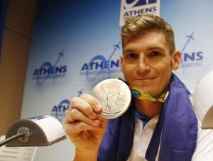 Τίμησαν τον Ολυμπιονίκη Σπύρο Γιαννιώτη στην Κέρκυρα
