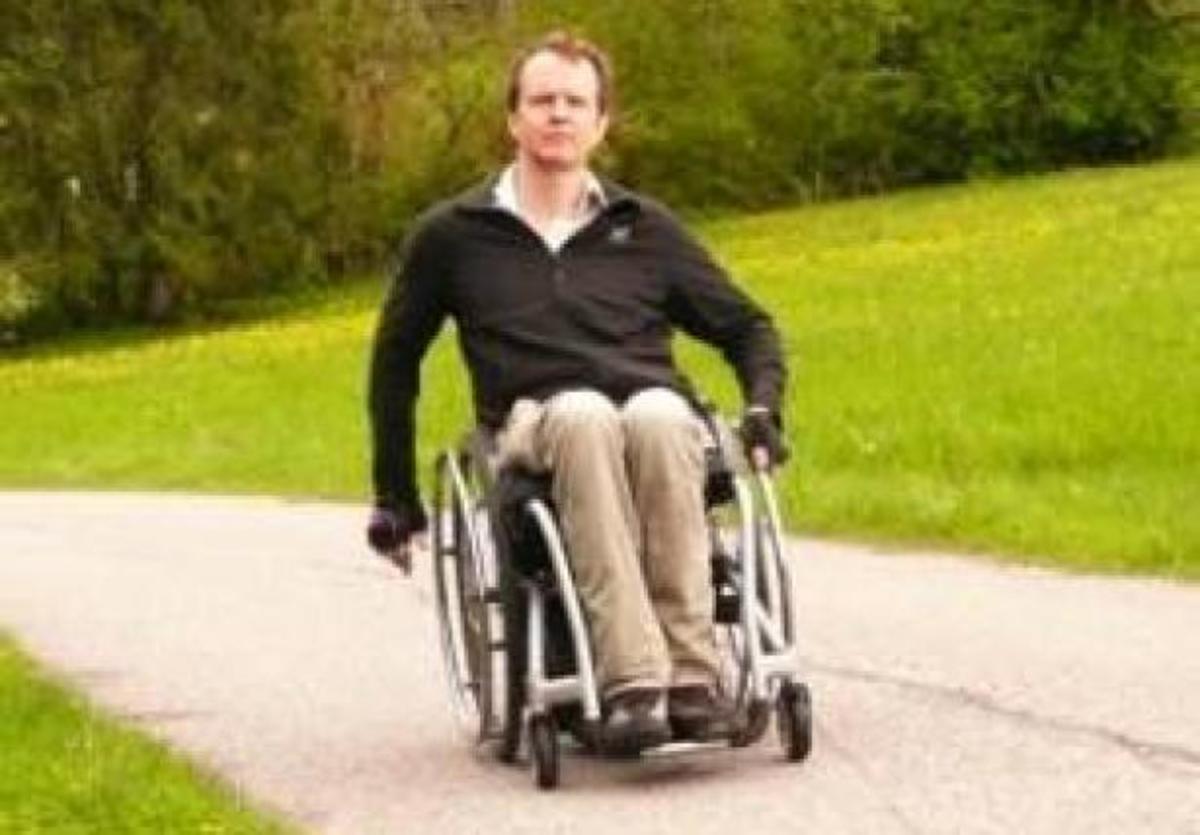 Φρανκφούρτη – Ιεροσόλυμα με αναπηρικό καρότσι – ΦΩΤΟ   Newsit.gr