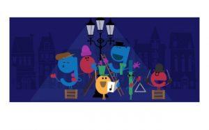 Καλές γιορτές 2016 εύχεται σήμερα η Google με το Doodle [pic]