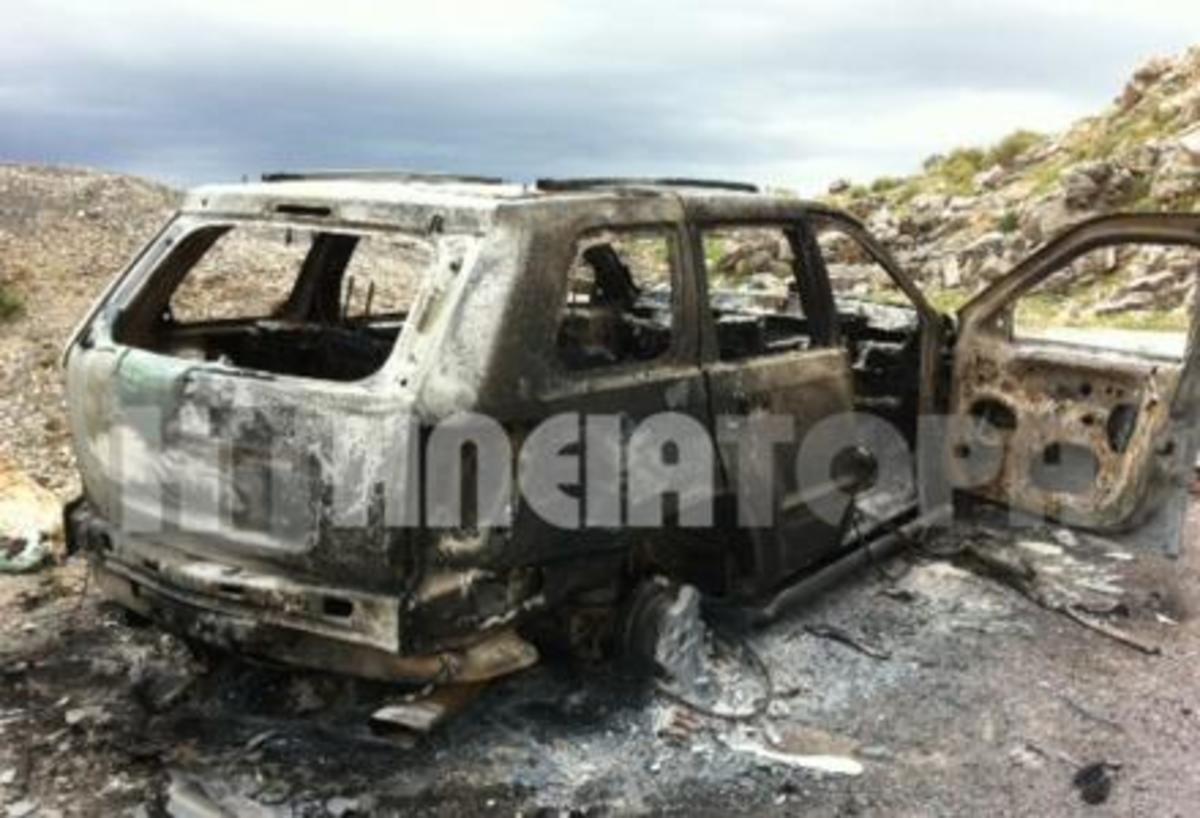 Ηλεία: Περίεργη υπόθεση εμπρησμού πολυτελούς αυτοκινήτου! | Newsit.gr