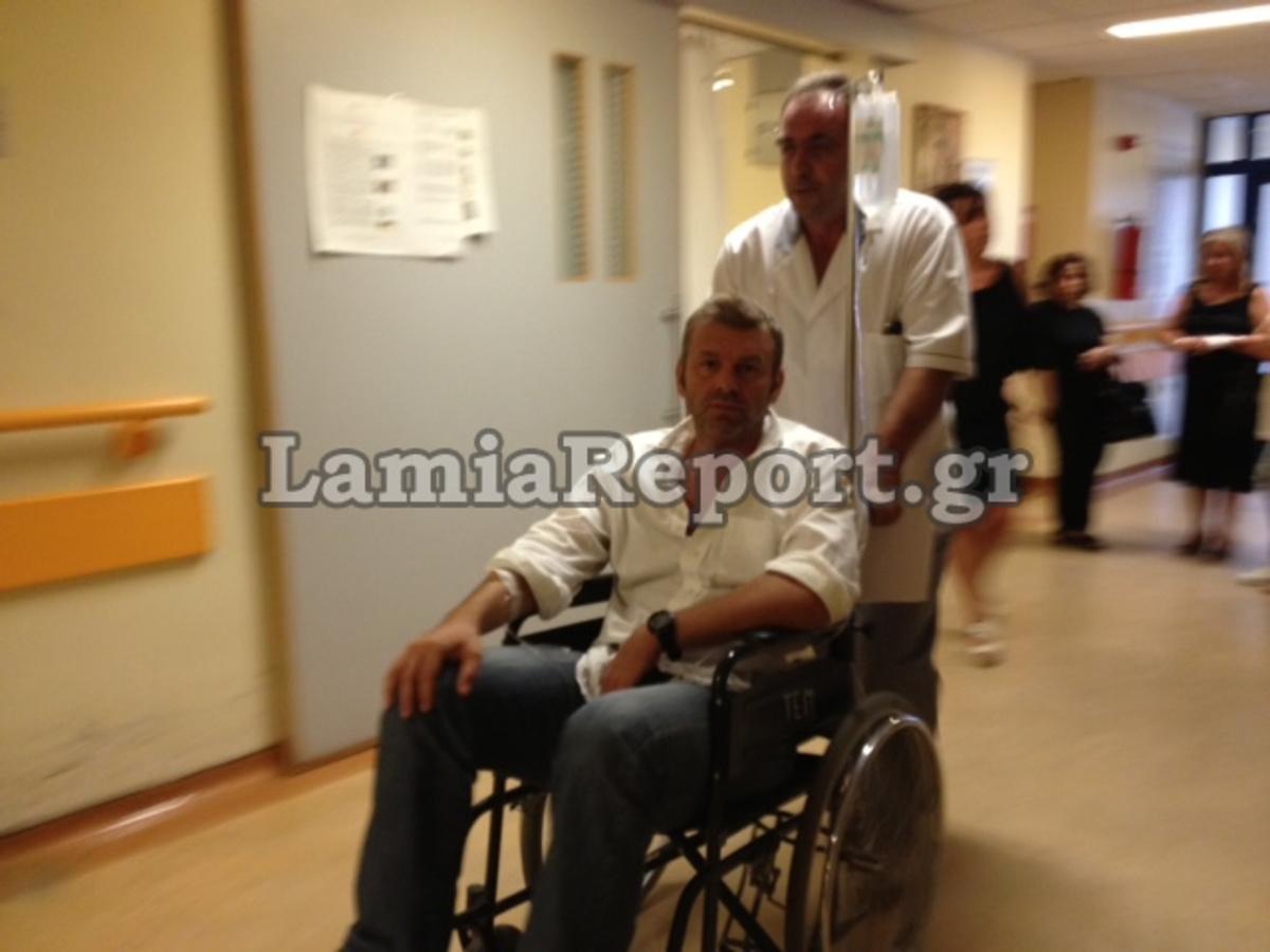 Στο νοσοκομείο εσπευσμένα ο Απόστολος Γκλέτσος (ΦΩΤΟ) | Newsit.gr