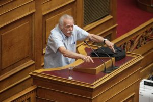 Εκλογές 2015: Επικεφαλής του ψηφοδελτίου της ΛΑΕ ο Μανώλης Γλέζος