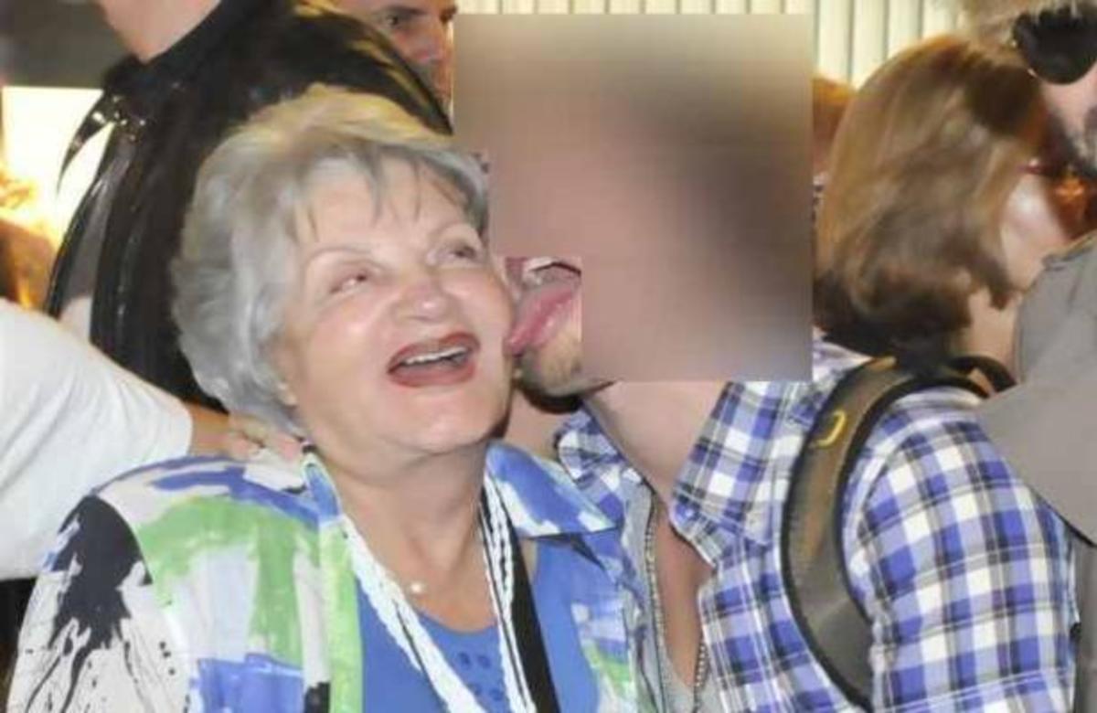 Ηθοποιός των Βασιλιάδων γλείφει την γιαγιά του μπροστά στην κάμερα! | Newsit.gr