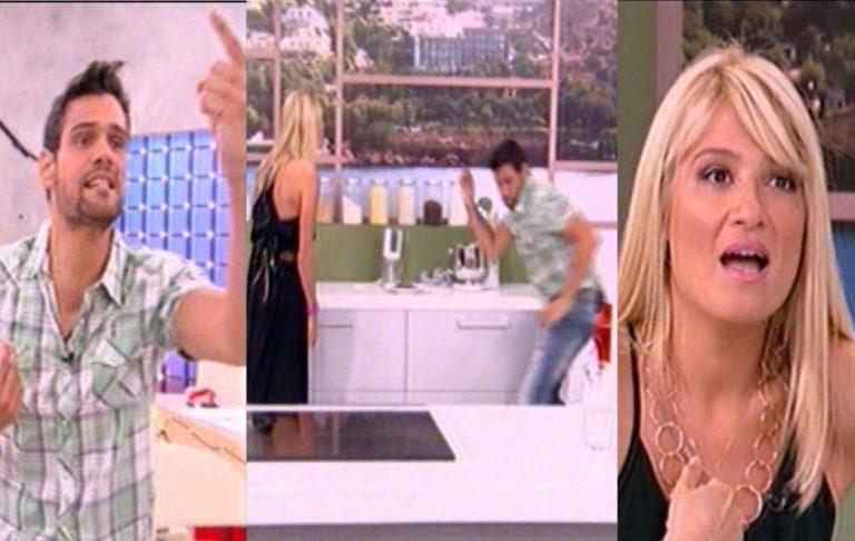Άγριος καβγάς Σκορδά – Ουγγαρέζου! Της πέταξε το γλυκό στο πάτωμα! | Newsit.gr