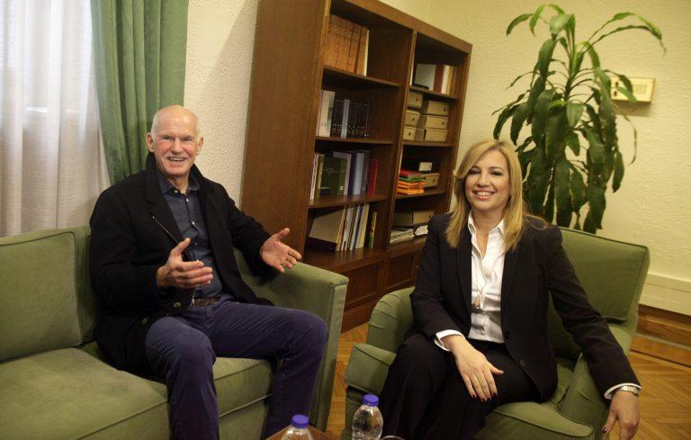 Συνάντηση Γιώργου – Φώφης – Δεν επιστρέφει στο ΠΑΣΟΚ αλλά… [pics] | Newsit.gr