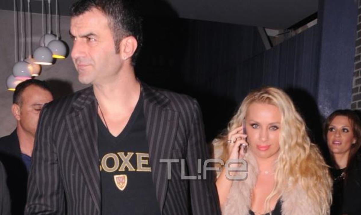Τ. Δέλλας – Γ. Μαστροκώστα: Ερωτευμένοι στα μπουζούκια! Φωτογραφίες   Newsit.gr