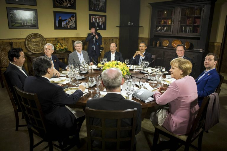 Οι κορυφαίες θέσεις  του Ομπάμα στη G8 | Newsit.gr