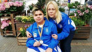 Ασημένιο μετάλλιο ο Γωνιάς στο Ευρωπαϊκό Όπεν μπότσια!