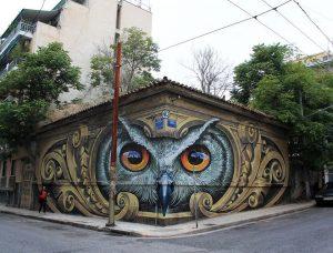 Το γκράφιτι της Αθήνας που «έριξε» το ίντερνετ! [pics]