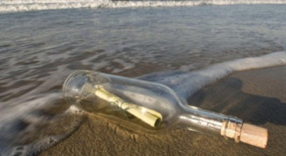 Κεφαλονιά: Βρήκε γράμμα σε μπουκάλι 23 χρόνια μετά! Δείτε το! | Newsit.gr