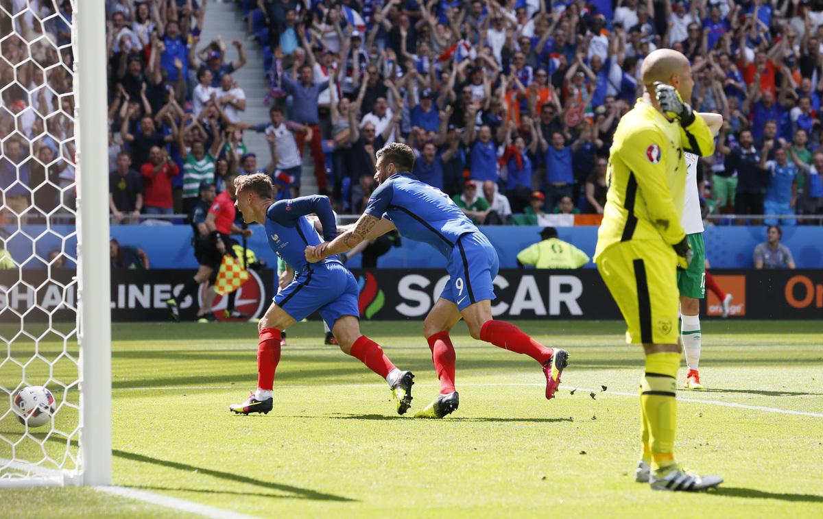 Γαλλία - Ιρλανδία 2-1 ΤΕΛΙΚΟ  Ο Γκριεζμάν έστειλε τους Γάλλους στους