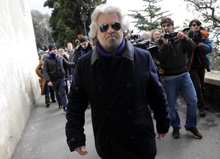 Ο Μπέπε Γκρίλο θέλει να σχηματίσει κυβέρνηση | Newsit.gr