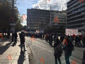 Απεργία – ΓΣΕΕ – ΑΔΕΔΥ: Σκόρπια διαδήλωση… [pics]