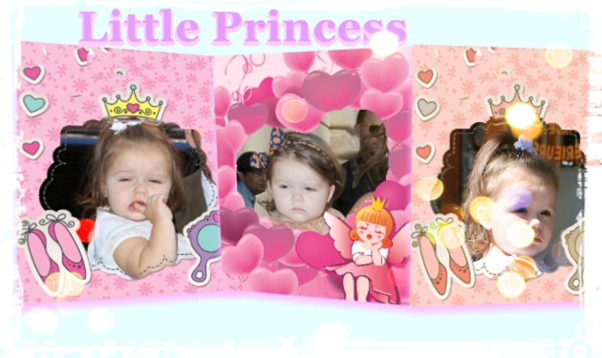Ένα αστέρι γεννιέται! H μικρή Harper στα χνάρια των στιλάτων γονιών της! | Newsit.gr