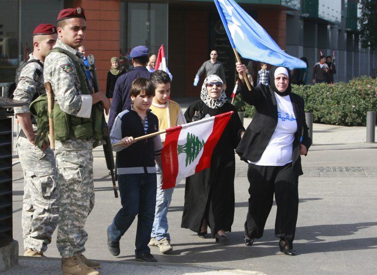 Συλλαλητήριο στη Βηρυτό για τη δολοφονία Χαρίρι | Newsit.gr