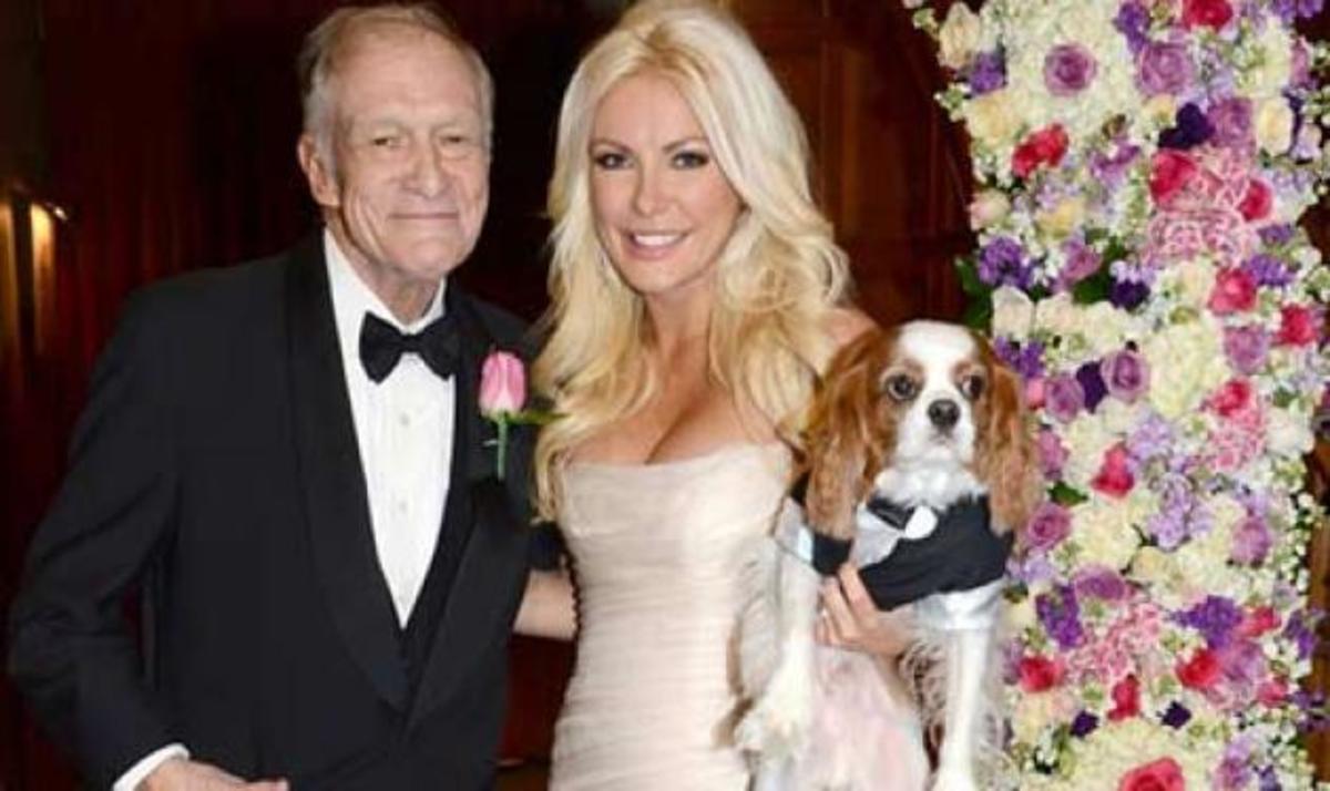 Hugh Hefner: Ο κύριος Playboy, παντρεύτηκε για τρίτη φορά! Η νύφη είναι 60 χρόνια μικρότερή του! | Newsit.gr