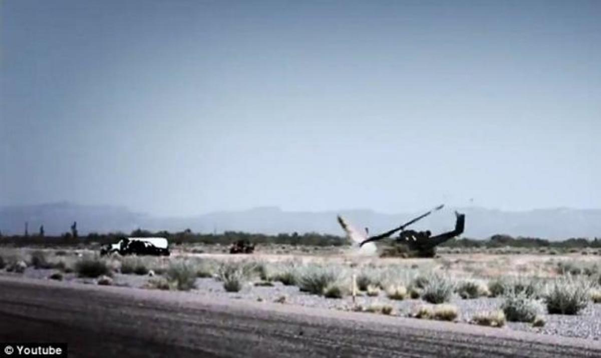 Συγκλονιστικό βίντεο: Συντριβή ελικοπτέρου σε αγώνα ταχύτητας! | Newsit.gr