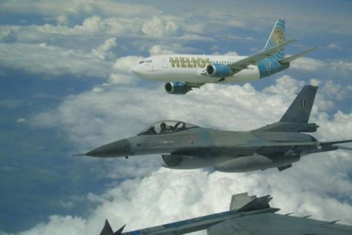 Το μυστήριο του HELIOS -Τι είδαν τα F 16, πως έπεσε – Βίντεο που εξηγούν πολλά | Newsit.gr