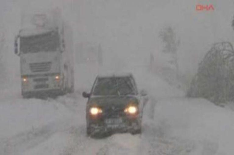 Σφοδρές χιονοποτώσεις στην Τουρκία – Εκλεισαν οι δρόμοι στην Ανδριανούπολη | Newsit.gr