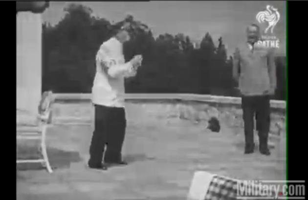 Ο Χίτλερ…χορεύει! Σπάνιο κινηματογραφικό υλικό από τις «ανθρώπινες» στιγμές του Αδόλφου   Newsit.gr