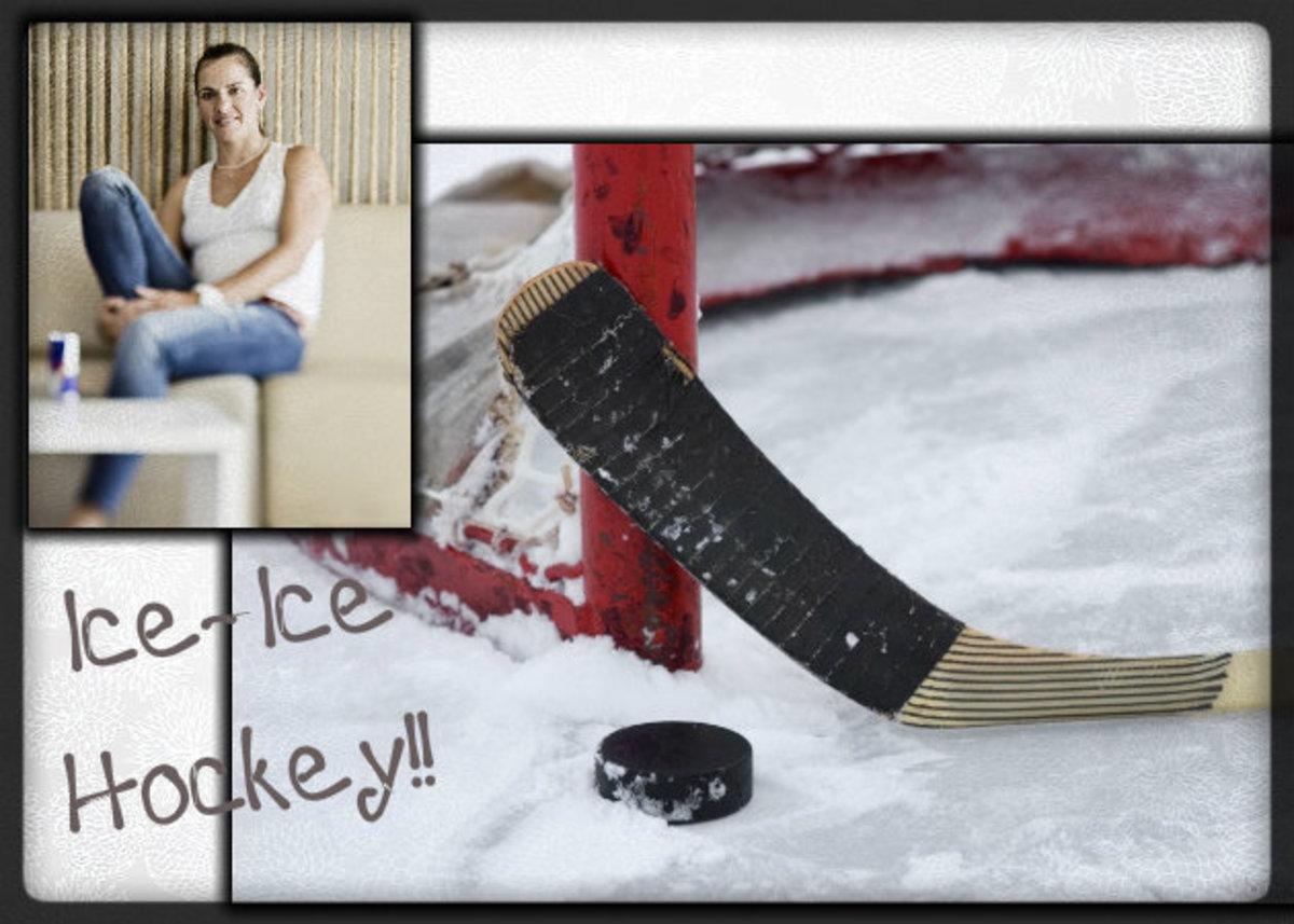 Η Μαρία και το χόκεϋ επί πάγου! | Newsit.gr