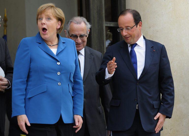 Η Μέρκελ φίμωσε τον Ολάντ! | Newsit.gr