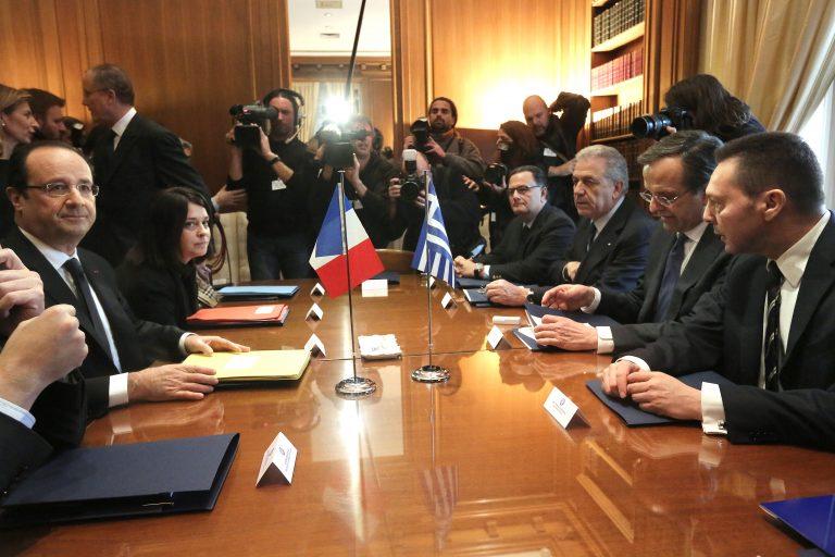 Για γαλλικές επενδύσεις και Χρυσή Αυγή συζήτησαν Βενιζέλος – Ολάντ | Newsit.gr