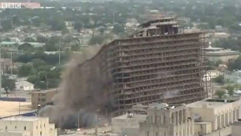 Ξενοδοχείο καταρρέει σε 10 δευτερόλεπτα στη Νέα Ορλεάνη | Newsit.gr