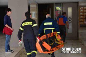 Ναύπλιο: Κάηκε ζωντανός μέσα στο διαμέρισμά του! [vid]