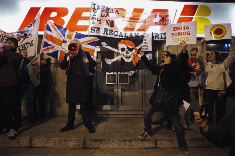 Ισπανία: Ξεσηκωμός των υπαλλήλων της Iberia για τη συγχώνευση με την British Airways | Newsit.gr
