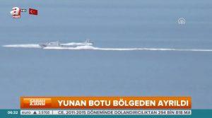 """Οι Τούρκοι παίζουν… """"ναυμαχία"""" στο Αιγαίο! Νέο video από τα Ίμια"""