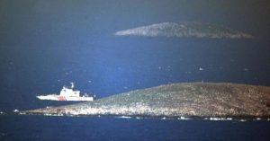 """Ίμια: Συντηρεί την ένταση η Τουρκία – Καταγγέλλουν """"παραβίαση"""" από ελληνικά σκάφη!"""