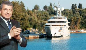 Λευκάδα: Χώρο στο λιμάνι του Νυδρίου ζήτησε ο Ριμπολόβλεφ