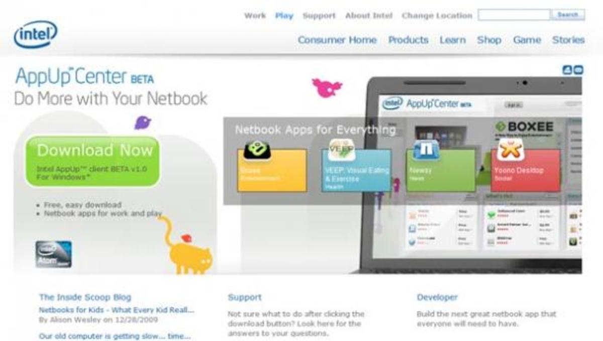 Το νέο ηλεκτρονικό κατάστημα αποκλειστικά για netbooks από την Intel!   Newsit.gr