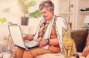 Οι online συνήθειες των ατόμων άνω των 55 ετών