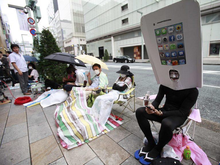 Το iPhone5 ανέβασε την Ασία | Newsit.gr