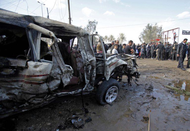 Έκρηξη σε παγιδευμένο με εκρηκτικά φορτηγό έσπειρε το θάνατο στο Ιράκ | Newsit.gr