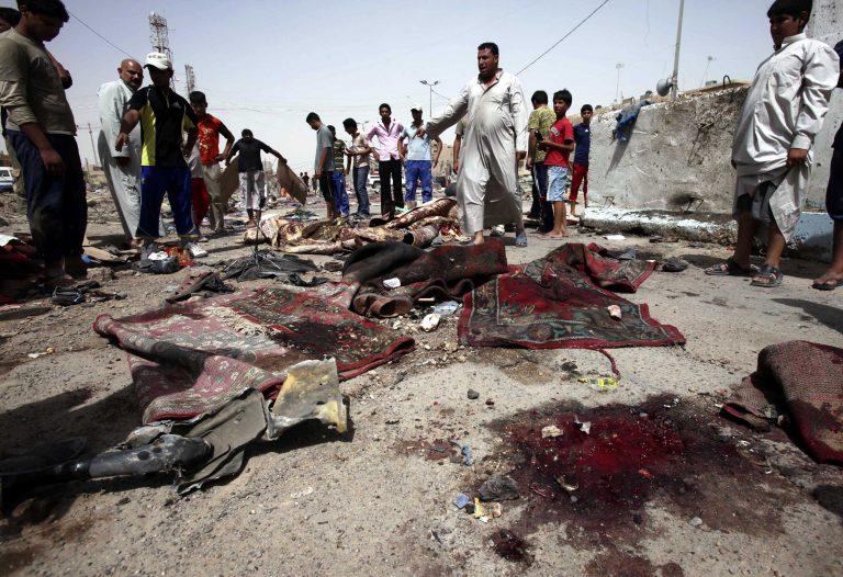 Αιματοκύλισμα στο Ιράκ με 24 νεκρούς από επίθεση σε τέμενος   Newsit.gr